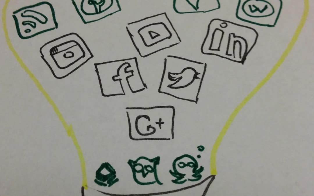 Social Media Savy – or how I represent my learning objectives